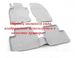 Unidec Ковры салонные для Land Rover Discovery V 3D (2016-) Серый