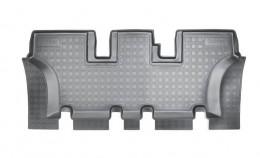 Unidec Коврики салонные для Hyundai Santa Fe (DM) (2012) (7 мест) (3 ряд)