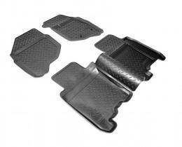 Unidec Коврики салонные для Honda Fit (GD) (2001-2008) (прав.руль)