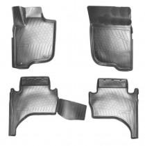 Unidec Коврики салонные для Mitsubishi L200 3D (2015)