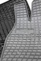 EL TORO Резиновые коврики в салон Skoda Fabia II 2007-