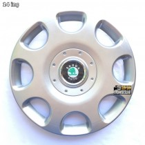 SKS 208 Колпаки для колес на Skoda R14 (Комплект 4 шт.)