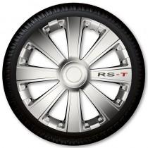 4 Racing Колпаки для колес RS-T Silver R13 (Комплект 4 шт.)