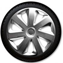 4 Racing Колпаки для колес Livorno Carbon R15 (Комплект 4 шт.)