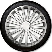 4 Racing Колпаки для колес Radical Pro Silver R14 (Комплект 4 шт.)