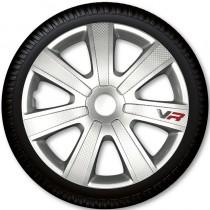 4 Racing Колпаки для колес VR Carbon R15 (Комплект 4 шт.)