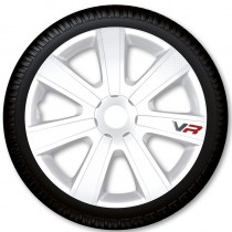 4 Racing Колпаки для колес VR Carbon White R15 (Комплект 4 шт.)