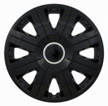 Jestic Колпаки для колес Cosmos black ring R15 (Комплект 4 шт.)