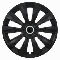 Jestic Колпаки для колес Delta black ring R15 (Комплект 4 шт.)