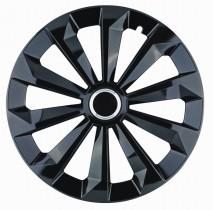 Jestic Колпаки для колес Fame black R16 (Комплект 4 шт.)