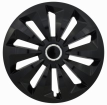 Jestic Колпаки для колес Fox black ring R15 (Комплект 4 шт.)