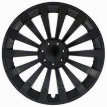 Jestic Колпаки для колес Meridian black R15 (Комплект 4 шт.)