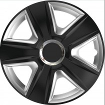 Elegant Колпаки для колес Esprit RC Black&Silver R16 (Комплект 4 шт.)