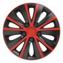 Elegant Колпаки для колес Rapid red&black R13 (Комплект 4 шт.)