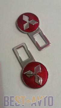 Заглушки ремней безопасности на Mitsubishi