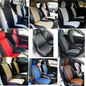 FavoriteLux Авточехлы на сидения Skoda Fabia (6Y) Combi/Hatch (цельная) с 2000-07 г