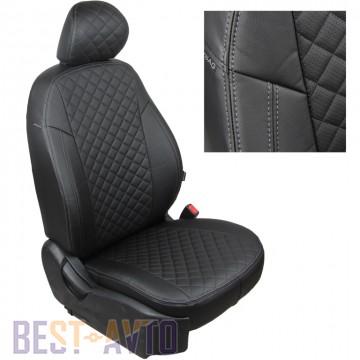 FavoriteLux Romb Авточехлы на сидения Skoda Rapid c 2012 г