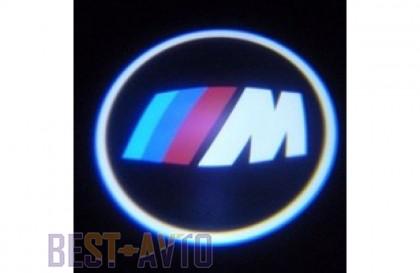 Проекция логотипа BMW. Беспроводные проекторы 7Вт