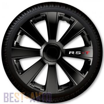 4 Racing Колпаки для колес RS-T Black R14 (Комплект 4 шт.)