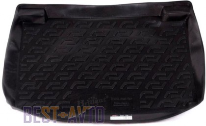 L.Locker Коврики в багажник Skoda Fabia hb (99-07)