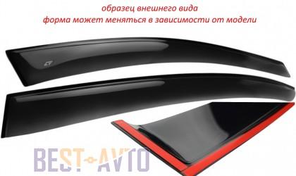 VL,Cobra Tuning Ветровики Peugeot 107 3d 2005