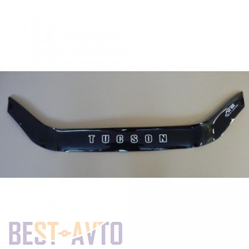 Vip tuning Дефлектор капота HYUNDAI TUCSON с 2004-2009 г.в (без клыков)