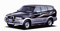 SsangYong Musso 1993-2006