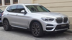 BMW X3 (G1) 2017-