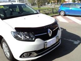 Дефлектор капота Renault Logan с 2013 Vip tuning