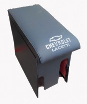 Probass Tuning Подлокотник Chevrolet Lacetti с вышивкой серый