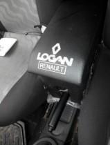 Подлокотник Renault Logan с 2007 с вышивкой черный Probass Tuning