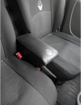 Подлокотник Renault Trafic 1+2 черный Probass Tuning