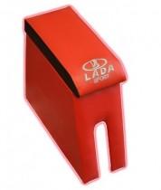 Подлокотник Ваз 2101-2105-2106-2107 с вышивкой красный Probass Tuning