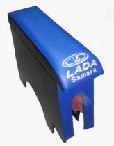 Probass Tuning Подлокотник Ваз 2108-2109-21099 с вышивкой синий