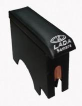 Probass Tuning Подлокотник Ваз 2108-2109-21099 с вышивкой длинный черный