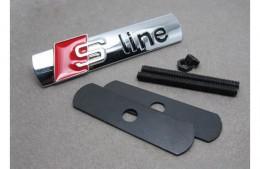 Шильдик на решетку радиатора Audi S Line