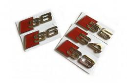 Шильдик надпись Audi S3 S4 S5 S6 S8 SQ3 SQ5 (на крышку багажника)