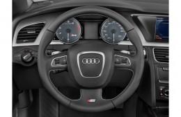 Эмблема шильдик Audi S-line на руль
