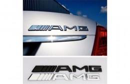 Надпись шильдик Mercedes AMG