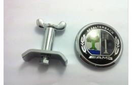 Эмблема на капот Mercedes AMG
