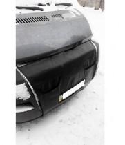 Утеплитель радиатора (с клапанами) Citroen Jumper 2006-2014 черный  Probass Tuning