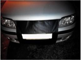 Утеплитель радиатора Hyundai Matrix 2001-2010 черный Probass Tuning