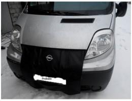 Утеплитель радиатора Opel Vivaro черный Probass Tuning