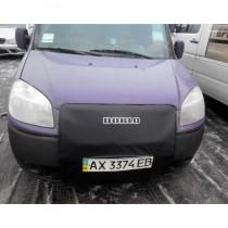 Утеплитель радиатора Fiat Doblo 2005- черный