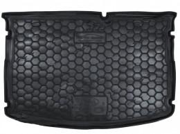 GAvto Коврики в багажник Kia Rio (2015>) (хетчбэк) (MID) (без органайзер.)