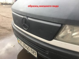 Зимняя заглушка на решетку радиатора Mercedes Sprinter CDI 2000-2002 (старая решетка)