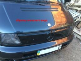 Зимняя заглушка на решетку радиатора Mercedes Vito 2003-2010 (решетка)