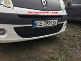 Зимняя заглушка на решетку радиатора Renault Trafic/Opel Vivaro 2006-2015 (бампер низ)