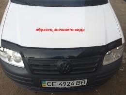 """Зимняя заглушка на решетку радиатора Volkswagen T4 1998-2003 """"косые фары"""" (верх реш)"""