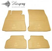 Stingray Коврики резиновые BMW 5 (E39)/BMW 7 (E38) бежевые